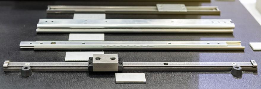 Glissières et rails télescopiques pour applications industrielles