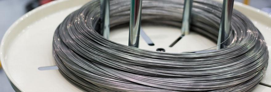 secteurs concernés par le travail de fil métallique
